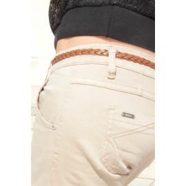 Pantalon slim beige Tamara - The LELI - Prêt à porter femme - 2017