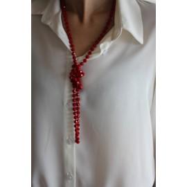 Collier sautoir Klein perles fantaisie - bijoux- The LELI