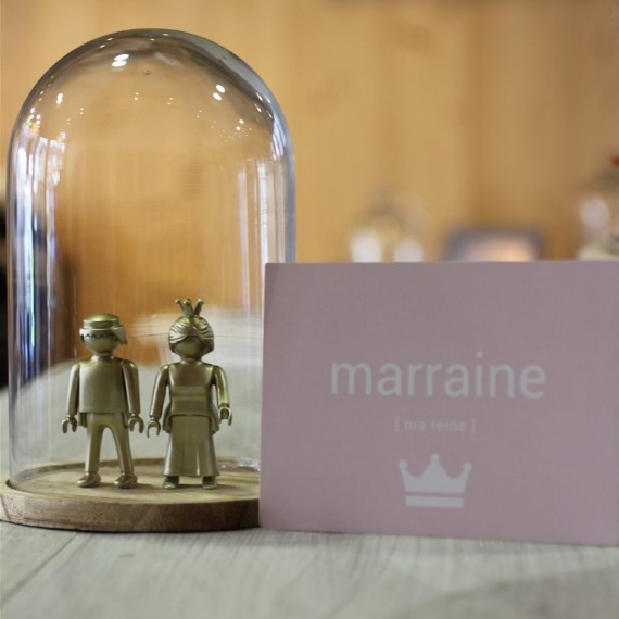 Carte postale Marraine
