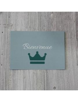 Carte postale Bienvenue Garçon