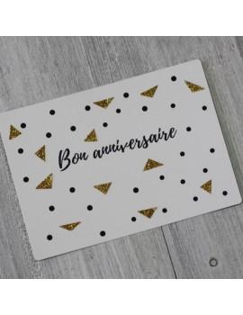 Carte postale Bon anniversaire
