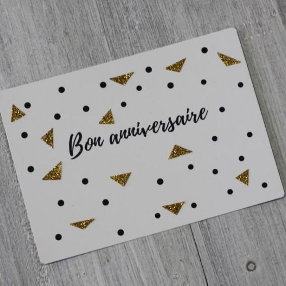 Carte postale Bon Anniversaire The LELI