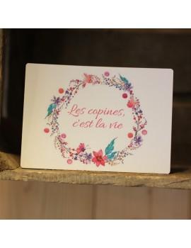 Carte postale Les copines