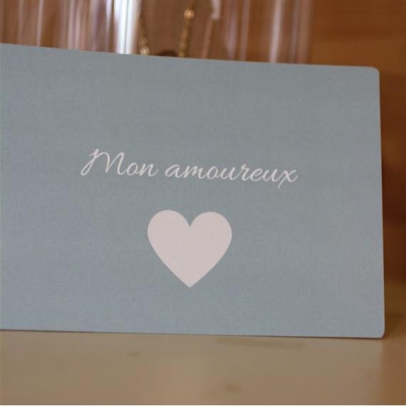 Carte postale Mon amoureux The LELI