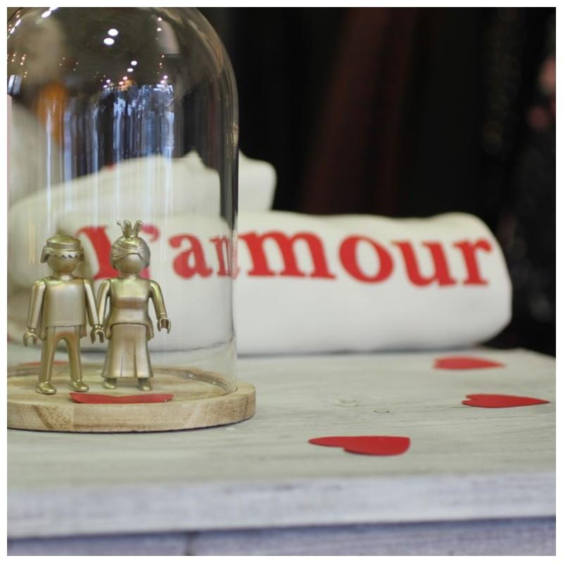 Couple d amoureux Playmobils dorés The LELI. Idée Cadeau St Valentn f4f3a7f129c