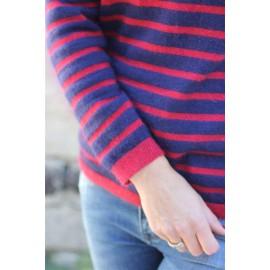 Pull Jeanne marinière - leli concept store