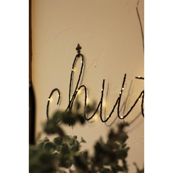 Mot lumineux Chut - leli concept store