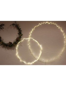Cercle lumineux Blanc Petit Modèle