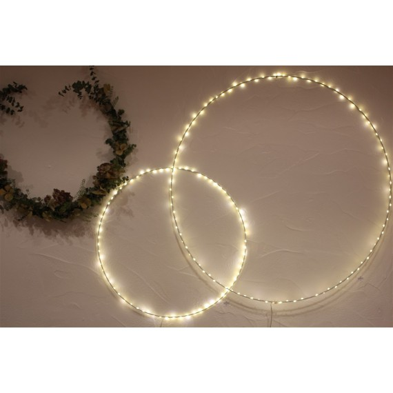 Cercle lumineux Blanc Grand Modèle