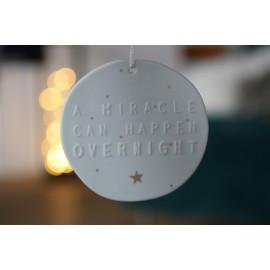 Médaillon Miracle Porcelaine Rader - leli concept store
