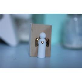 Ange gardien en porcelaine Rader - leli concept store