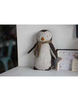 Doudou Pingouin garçon Maileg