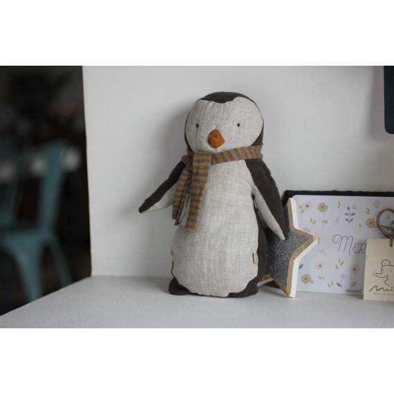 Doudou Pingouin garçon Maileg leli concept store