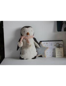 Doudou Pingouin fille Maileg