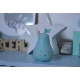 Veilleuse poire bleue leli concept store