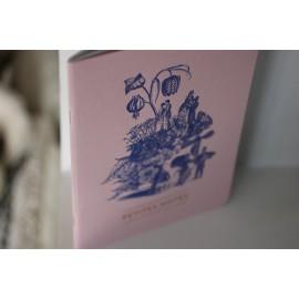 Carnet relié Vanité rose leli concept store