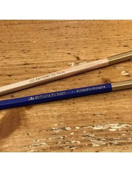 Pack crayons HB - marine + bois
