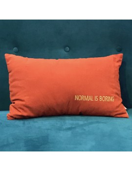 Coussin LINA BORING TERRACOTTA 30