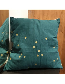 Coussin LINA EPICEA POIS OR 50