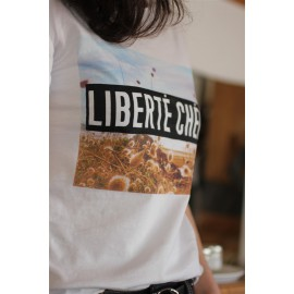 Tee-shirt LIBERTE CHERIE - YUKA france -The LELI