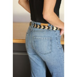 Jean Marley flare NVY Jeans - The LELI