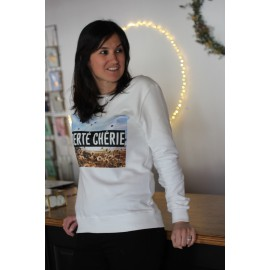 Sweat LIBERTE CHERIE -  Yuka France - The LELI