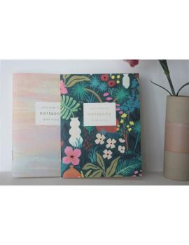 Duo notebook flower