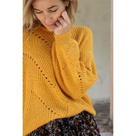 Pull Taiga jaune grace and mila - leli concept store