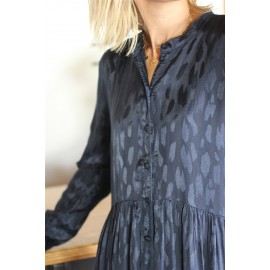 Robe courte Yas  Merta marine leli concept store