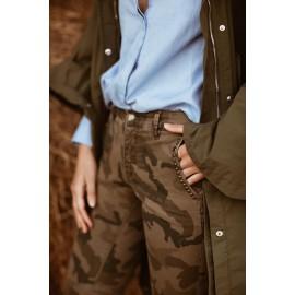 Pantalon Stud Camou Happy - leli concept store