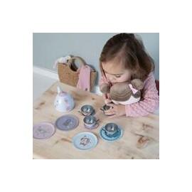 Service à thé métal jouet enfant Little Dutch leli concept store