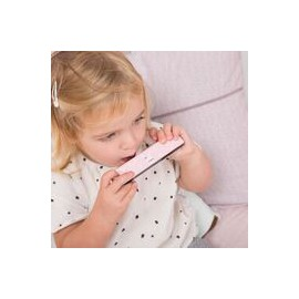 Harmonica en bois rose Little Dutch