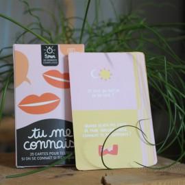 Jeu tu me connais - Editions Minus - leli concept store