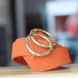 Ceinture Karrin orange - Pieces - leli concept store