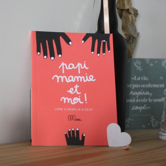 Cahier d'activités Papi, Mamie et Moi -  Editions Minus - leli