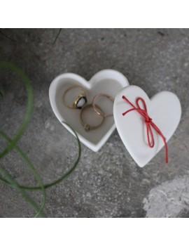 Boîte porcelaine coeur - Raëder