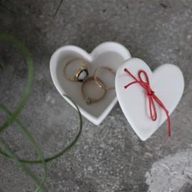 Boîte porcelaine coeur - Raëder- leli