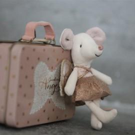 Ange Petite Souris valisette - Maileg