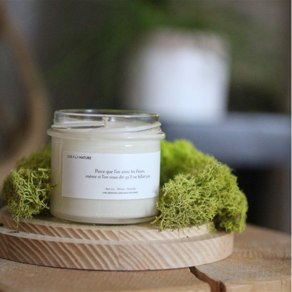 Bougie ôde à la nature - Candlebox - leli concept store