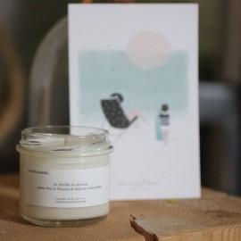 Bougie Jour de vacances - Candlebox - leli concept store