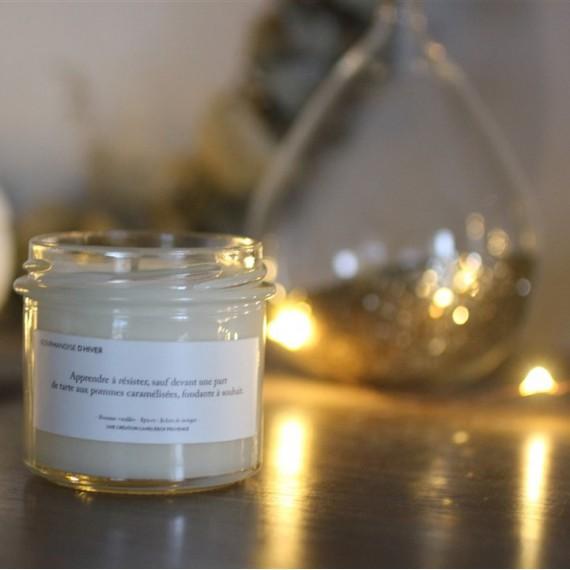 Bougie Gourmandises d'hiver - Candlebox - leli concept store