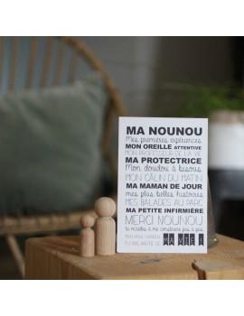 Carte Ma Nounou - Suite Créative