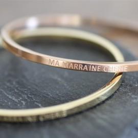 Jonc Marraine Chérie - leli concept store