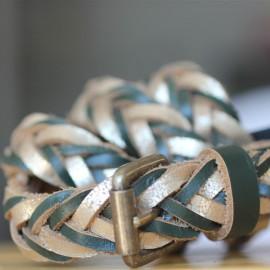 Ceinture Nadine kakie -  Pieces  leli concept store