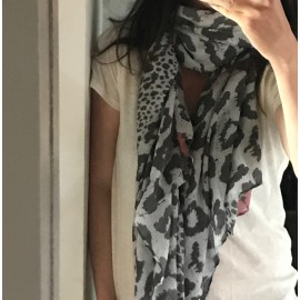 Foulard Nina gris - PIECES