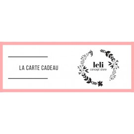 E-carte cadeau 100€ The LELI