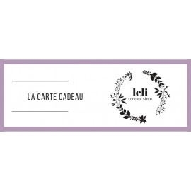 E-carte cadeau 30€ The LELI