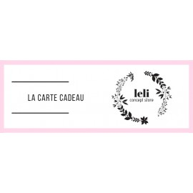 E-carte cadeau 75€ The LELI