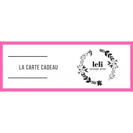 La Carte Cadeau The LELI 50€