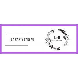 E-carte cadeau 150€ The LELI